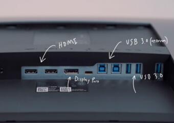 戴尔超宽5K显示器U4919DW评测:将两台QHD显示频合并成一台显示器