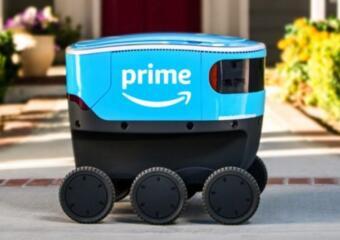 亚马逊研发的快递机器人Scout已开始展开测试