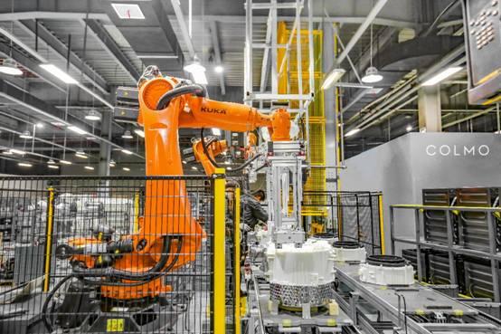 AI科技高端品牌COLMO全球首批BLANC系列产品正式量产交付
