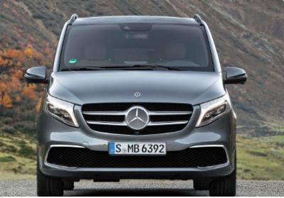梅赛德斯推出新款V级厢式车套件更新引入电动元素