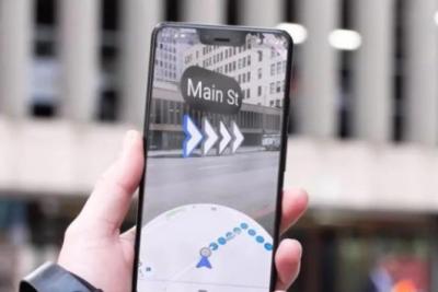 谷歌地图终于开启AR实景导航内测 落后百度地图两年