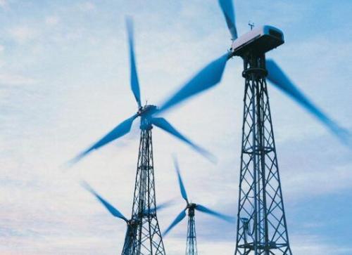 新濠天地娱乐平台官网上最大的风力发电机,有40层楼高,看看它是如何组装的