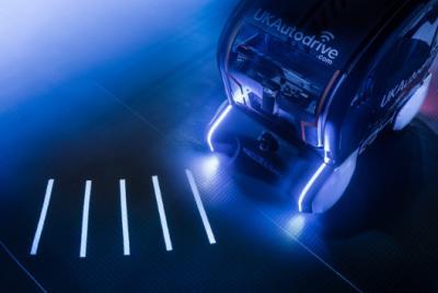 捷豹路虎与福特汽车研发车外灯光投射系统 为自动驾驶汽车开辟新道路