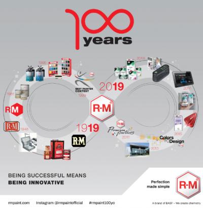巴斯夫R-M 汽车修补漆庆祝百年辉煌 创新是源动力