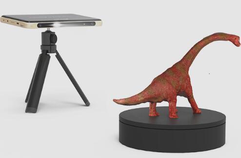 西安知象光电将重磅推出3D安卓便携扫描仪FingoS1 重新定义三维扫描