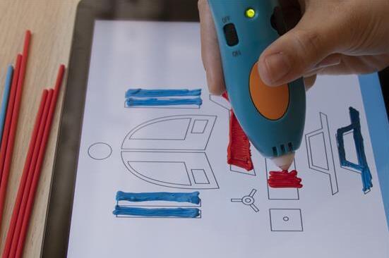 3D打印笔公司3Doodler推出3Doodler App 智能手机屏幕变身3D打印笔画布