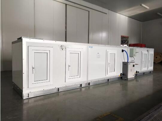 格瑞德成功开发新型榫卯式双迷宫强制密封组合式空气处理机组