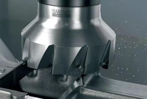 山特维克可乐满推出M5F90铣刀 一次走刀完成粗加工和精加工