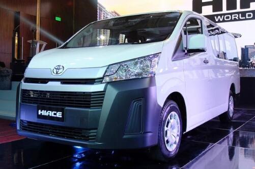 新一代丰田HIACE正式发布 全新平台打造多种车身选择