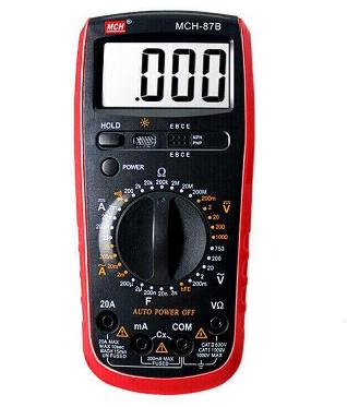 万用表的使用方法 实物测量讲解