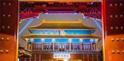 故宫打破传统,94年首次举办灯会并在晚间对公众开放