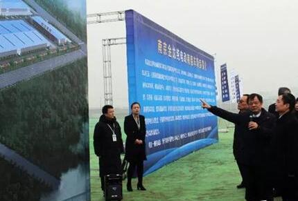 总投资80亿!南京金龙纯电动商用车项目开工