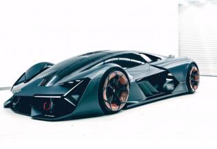 兰博基尼混合动力超跑LB48H将亮相今年的法兰克福车展