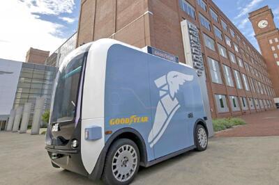 固特异与洛克汽车合作 为自动驾驶汽车提供先进轮胎技术