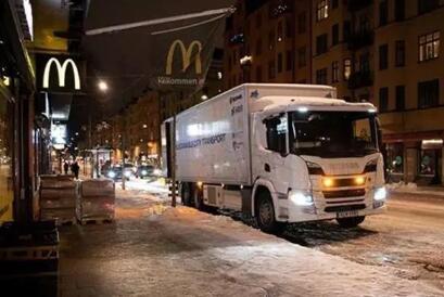 斯堪尼亚打造新一代插电式混合动力卡车 实现夜间无声送货