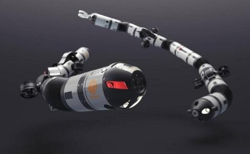 Eelume开发出新款 EELY500机器人,机动性更加灵活