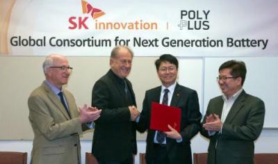 韩国SK创新投资美电池公司 研发锂金属电池
