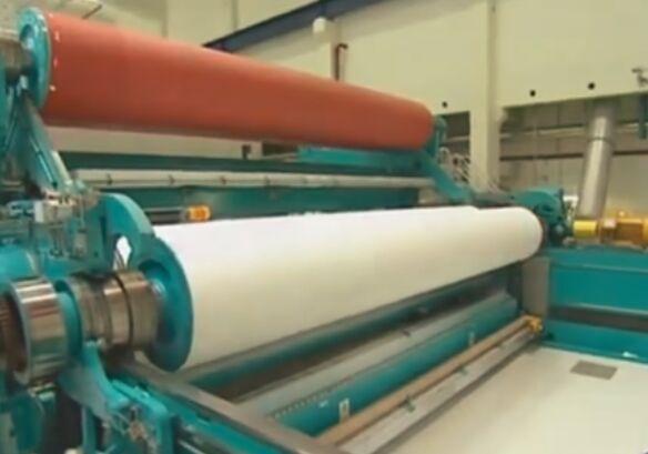 现代造纸机中的伊福特前沿-制浆造纸动画演示与实景拍摄