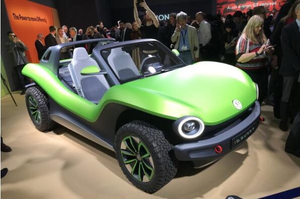 大众MEB平台打造ID. BUGGY沙滩概念车正式发布