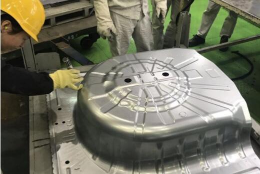 宝钢股份与东风日产合作又一喜讯!自研锌铝镁镀层汽车板试冲成功
