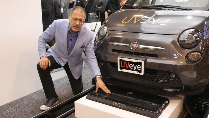 以色列UVeye汽车扫描仪可快速识别汽车数据 发现肉眼遗留问题