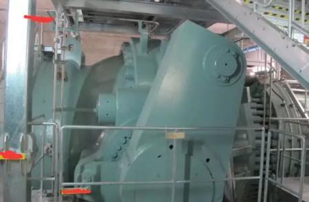 抽水蓄能电站进水阀安装情况