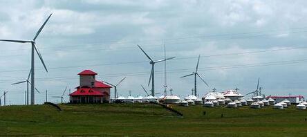 中广核积极助力内蒙古风电绿色发展 成两会能源热点