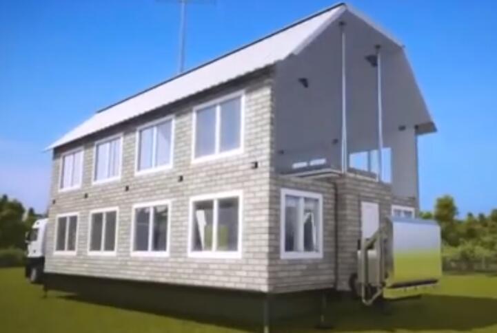 世界首款折叠房屋问世,仅10万美元,房价要大跌?