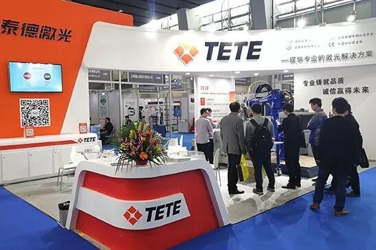 泰德激光携机械手焊接设备亮相广州展 强势吸睛实力圈粉
