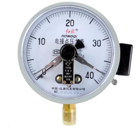 电接点压力表的工作原理及如何找出公共线?