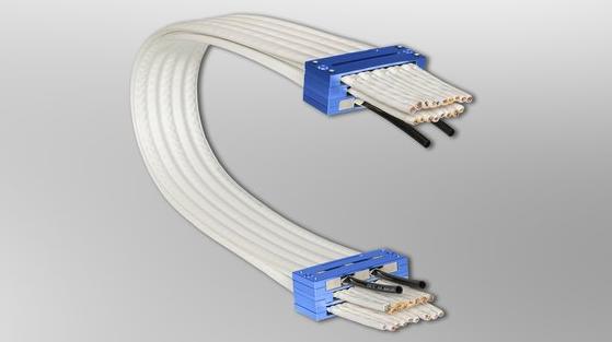 戈尔新推出的GORE抗静电无拖链电缆 解决静电和粉尘吸附问题