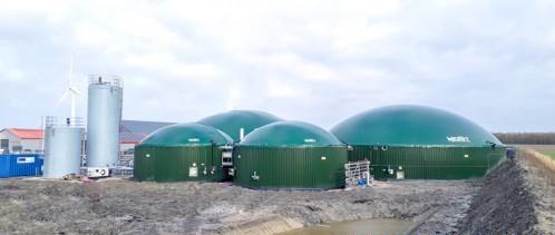 荷兰HoSt公司Marrum沼气厂开始向天然气管网输送生物甲烷