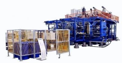 秦川机床推出国内首台200L三层双工位中空吹塑机