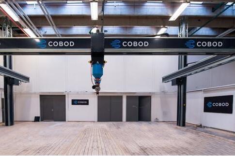 Cobod世界上最大的建筑3D打印机将进入沙特阿拉伯