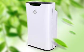 国民空气净化器新颐小白1.0低噪高效除霾去甲醛
