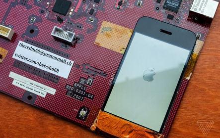 初代 iPhone 开发电路板曝光:iPhone是被怎么造出来的?