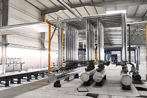 泉工策尼特助力巴林KINGDOM集团打造本土首条轻质加气砖生产线