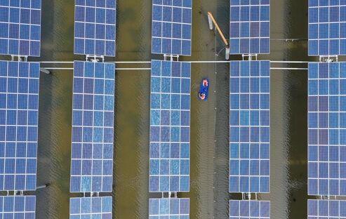 以扶贫为目标的湖南省衡阳两座光伏发电站 助力贫困户当地增收