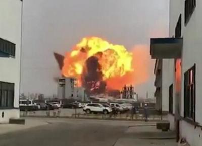 江苏天嘉宜化工有限公司发生苯爆炸 以致6死30人重伤!