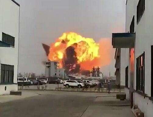 响水天嘉宜化工厂爆炸致44人遇难 2年被环保处罚7次通报存13项安全隐患