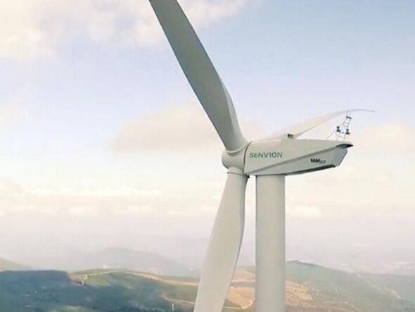 德国风电巨头Senvion安装法国最高的风力涡轮机