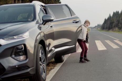 现代汽车推出高科技锁功能安全下车辅助Safe-exit assist