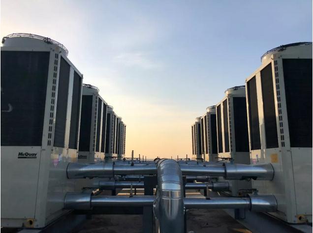 """麦克维尔""""骄阳""""系列低温强热模块热泵机组专门针对北方采暖市场"""