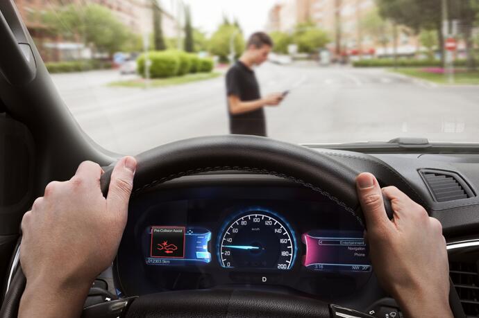 福特推出AEB智能感应制动保护系统 带来更智能更安全和便捷的出行体验