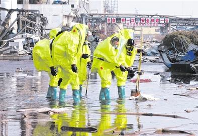 生态环境部监测人员已进入天嘉宜核心区完成采样 封堵园区入河排口