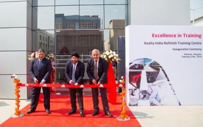 艾仕得启用印度最大修补漆培训中心 提供更迅速的服务响应