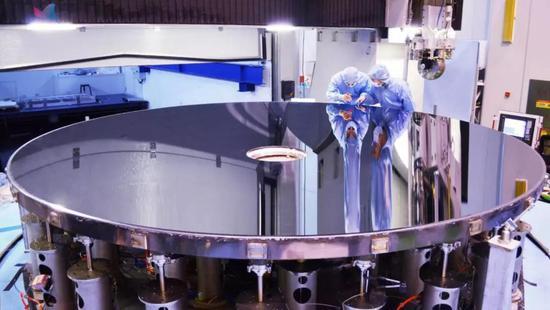 我国成功研制4.03米口径高精度碳化硅(SiC)非球面反射镜