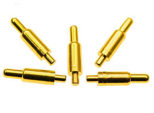 镀金pogo pin的使用是怎样通过精密仪器铆压成形的?