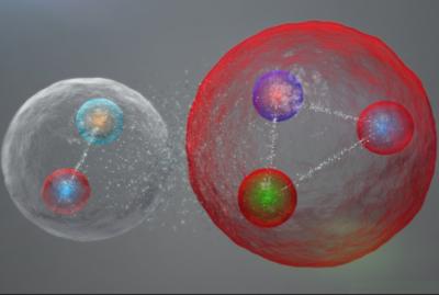 """清华大学大型强子对撞机团队发现第三种""""五夸克""""粒子"""