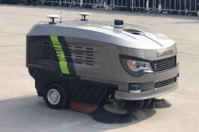 中联环境携多气快速扫路车及子弹头抑尘车等2019年新品亮相西安环卫博览会